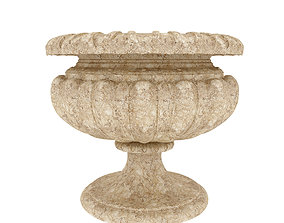 3D outdoor vase