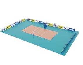 Volleyball Court 3D