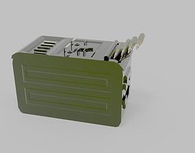 3D model box hmg 58