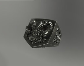 Aries ram ring 3D printable model