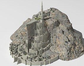 3D Minas Tirith