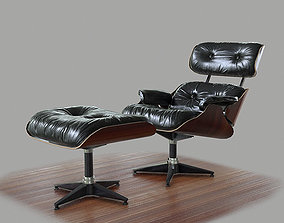 Eames Lounge Chair - PBR Game Ready 3D asset