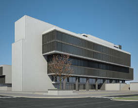 Office Building 01 3D