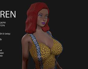 Keren Style V GIRL 3D model