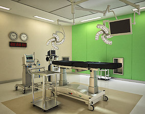 3D model anesthesia Operating Room