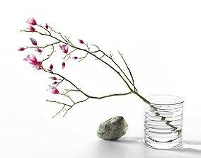 Magnolia Stone Composition 3D model