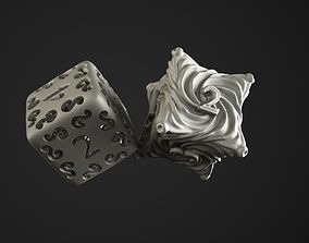 dice chaos and elves 3D printable model