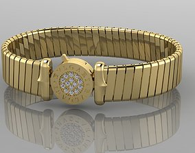 3D print model Bracelet Bvlgari