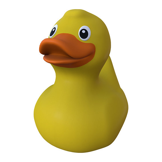 turbo yellow rubber duck