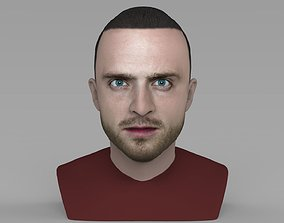 Jesse Pinkman Breaking Bad bust ready for full color 3D