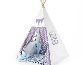 3D Tent wigwam for children 2