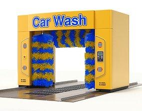 3D model Car Wash automatic