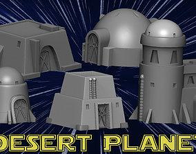 3D printable model Desert planet