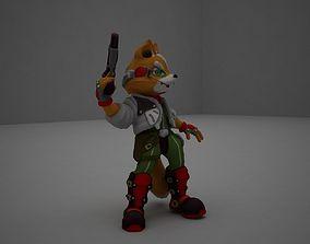Fox McCloud 3D