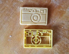 3D printable model Vintage Photo Camera Cookie Cutter