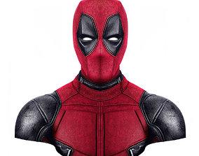 superhero 3D printable model deadpool