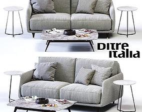 3D model Ditre Italia ELLIOT 2-er Sofa