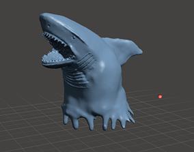 3D print model killer shark