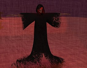 3D model death angel GRIM