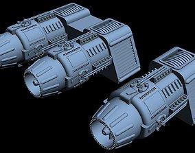 3D model Starship Detail 19