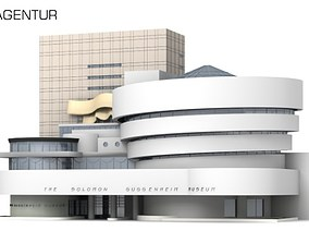 3D Solomon R Guggenheim Museum