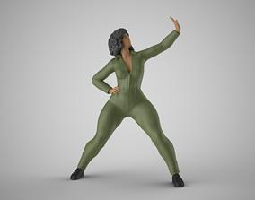 3D print model Woman Artwork Stance 3
