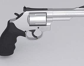 Revolver Smith and Wesson 3D model