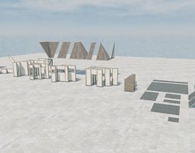 Modular Medieval House 3D asset realtime