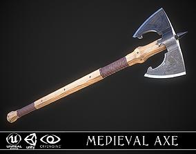 3D model Medieval Axe 05