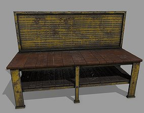 workbench 3D asset game-ready
