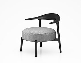Ripple chair by Giorgetti 3D