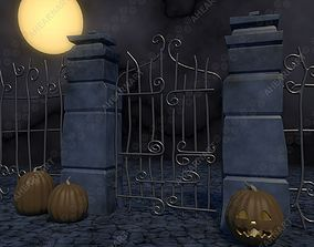 Nightmare Before Christmas Gate 3D model