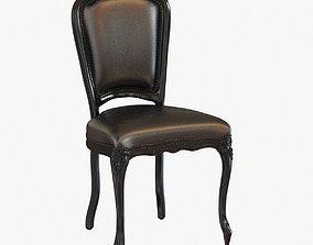 Sixinch louis armless chair 3D