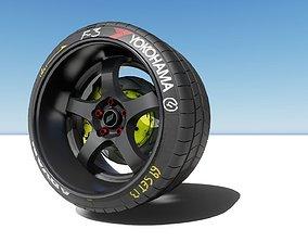 Work Meister Wheel 3D model