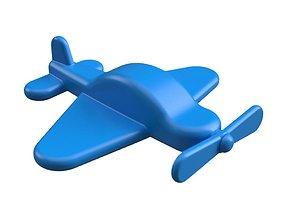 3D print model Flat plane curtiss p-40 warhawk