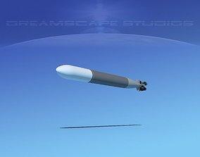 3D asset Mark 14 Torpedo