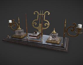 Writing Set 3D asset