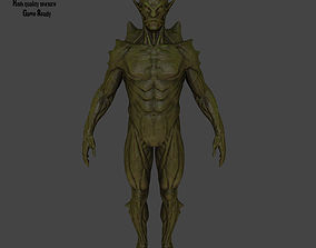 colossus monster 3D asset VR / AR ready