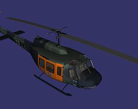 Bell UH-1 Iroquois 3D asset VR / AR ready