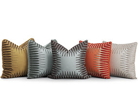 Decorative Cushions Set 1 3D
