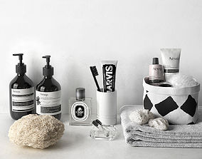 3D Aesop and Marvis Bathroom Composition