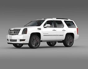3D Cadillac Escalade Platinum 2011