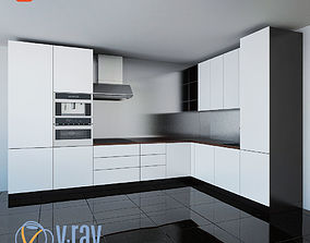 3D model Kitchen Furniture XVIII