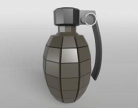 3D asset Grenade v1 004