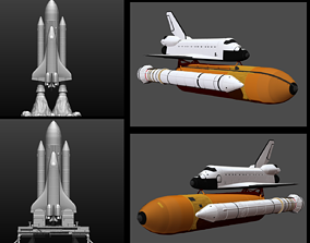 Space Shuttle file STL for 3D printer