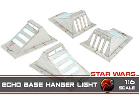 Star Wars Echo Base Hanger light - 3D printable model 1