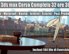 Vray Next 3ds max Corso Completo 3 mesi un Computer