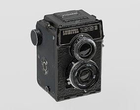 3D model Vintage Box Camera Lomo photogrammetry scan PBR 1