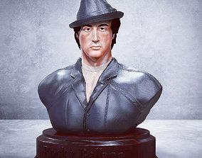 Rocky Balboa Bust - Sylvester Stallone 3D STL-OBJ NEW 2