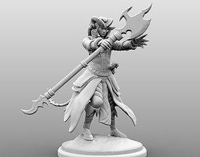 warlock 3D print model Tiefling Caster - Male